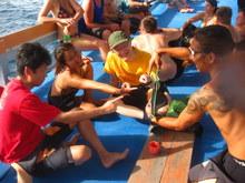 タオ島 ダイビング ボート ブリーフィング