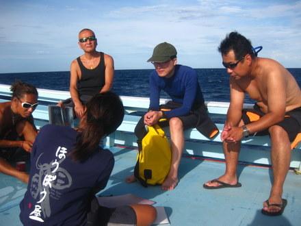 タオ島 ダイビング ブリーフィング