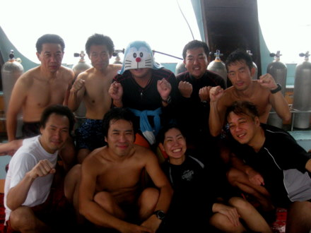 タオ島 ダイビングツアー ダイバー