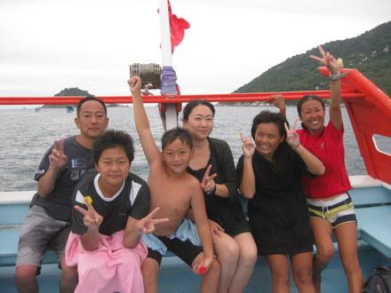 タオ島ダイビング コウタOW