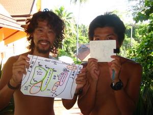 タオ島 ダイビング ダイブマスター