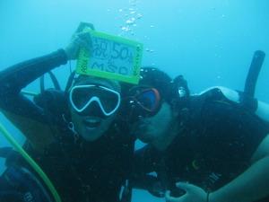 タオ島ダイビング マスタースクーバダイバー