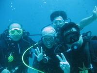 タオ島ダイビング 水中 ダイバー