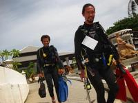 タオ島 ダイビング インストラクター
