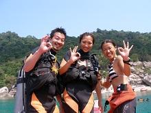 タオ島 ダイビング 体験ダイビング