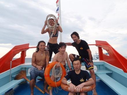 タオ島 ダイビング レスキュー