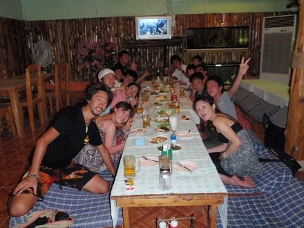 タオ島 ダイビング 陸