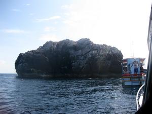 タオ島ダイビング セイルロック
