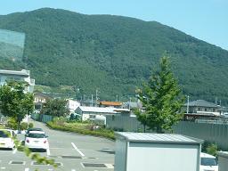 石和辺りの山