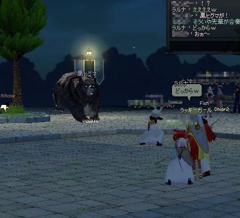 黒ヒグマの襲撃