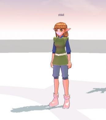 エルフの少女