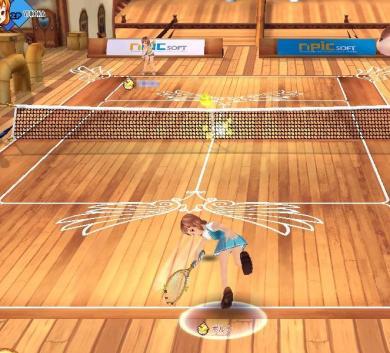 実はオンラインテニスゲームだったりw