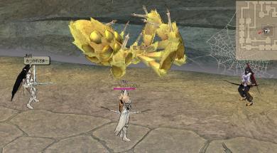 巨大黄金クモ