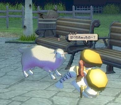 一頭だけはぐれていた羊さん