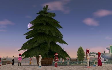 クリスマスツリー?