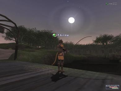 うーんw お月様綺麗っ♪