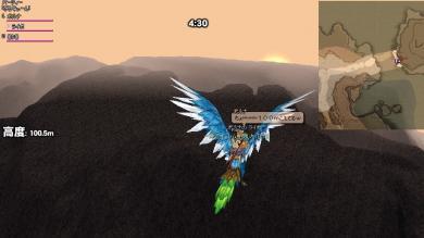 超高空の旅