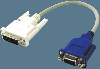 DVIからD-SUBに変換するケーブル