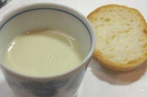 だだちゃ豆乳スープ