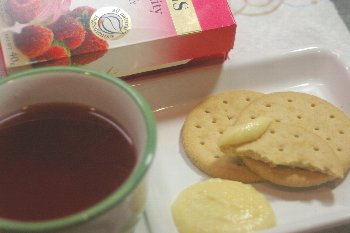meloちゃんの紅茶とビスケット