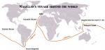 マゼランの航海図(WIKiより転載)