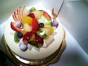 実家ケーキ20120103