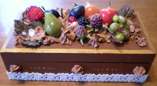 ケーキ風デコレーション