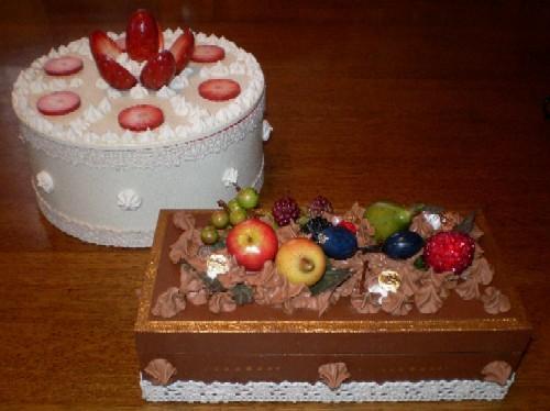 食べられないケーキ^^;