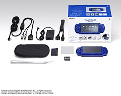 PSPメタリック・ブルー2