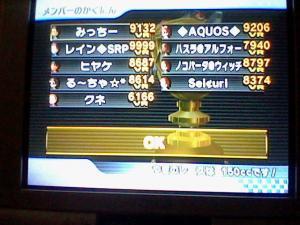 2GP目 レート画面
