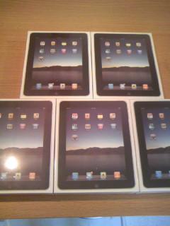 iPad立った写真