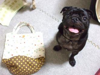 kemineさんバッグ