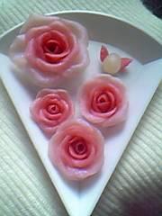 薔薇と天使のたまごピンク