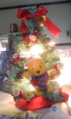 クリスマスツリー☆点灯