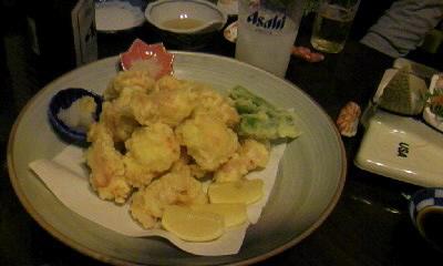 タラバの天ぷら