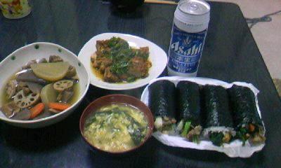 2月20日今日の晩御飯。