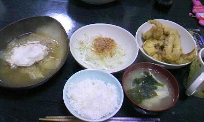 3月31日今日の晩御飯。