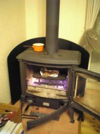 暖炉♪暖炉♪