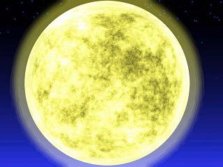 お月さまキ~ラキラ