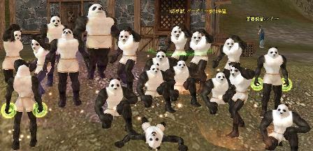 パンダ集合