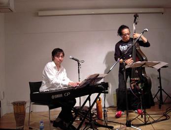 SINGO ライブ in Cafe y Libro サルサ