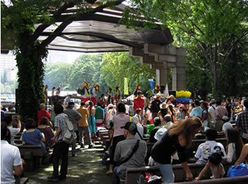 コロンビア独立記念イベント 日比谷公園