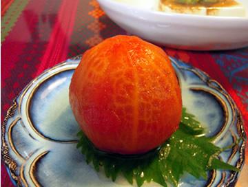 トマトお浸し アボカド