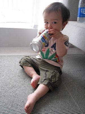 ビールうみゃぁ♪