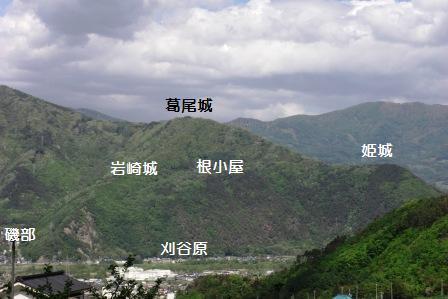 葛尾城遠景1