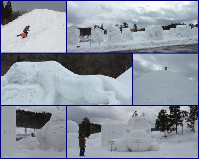 ひるがのⅣ 雪像