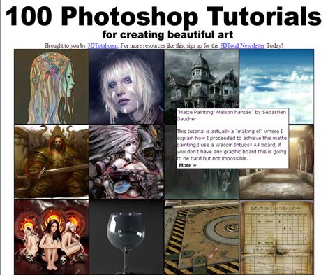 100 photoshop