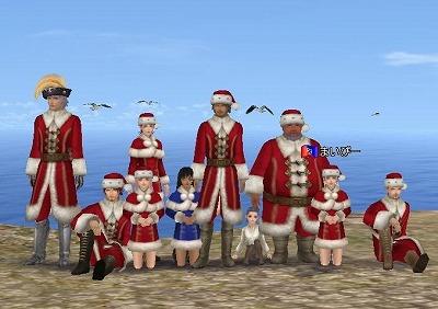 クリスマス模擬