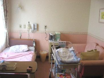かわいい病室
