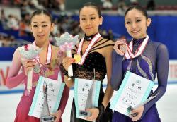 全日本08 女子表彰台
